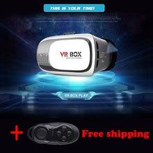 portable vr realidad virtual 3d vr glasses virtual reality helmet vr box with remote vr box version 3d virtual reality TVR01#