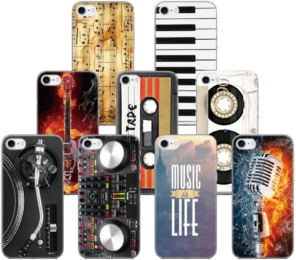 Music DJ Tape Case For Samsung Galaxy J1 J3 J5 J7 A3 A5 A7 2016 Version For Samsung J5 J7 Prime Phone Cover Coque Capa Fundas