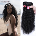 7A Brazilian Curly Virgin Hair 3 Bundles Short Curly Weave Human Hair Meche Bresilienne Cheveux Humain Kinky Curly Virgin Hair