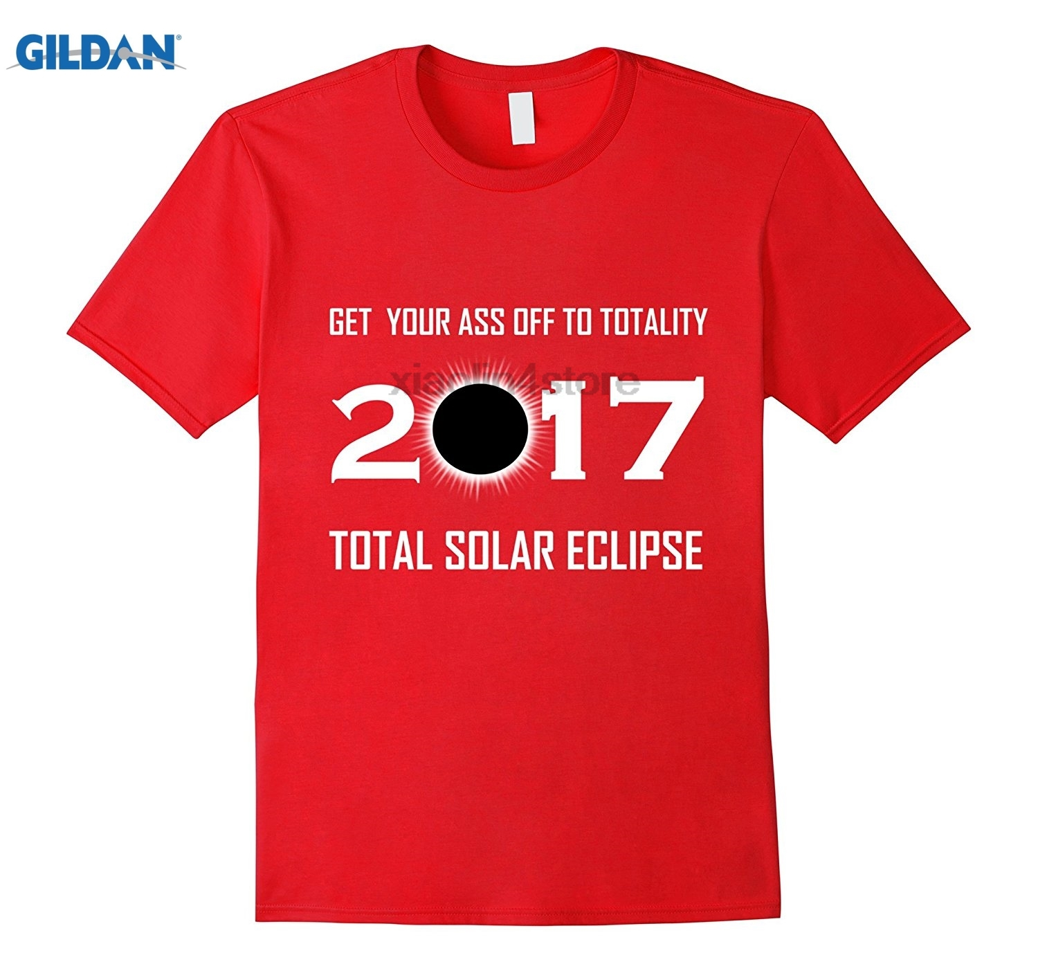 GILDAN GET YOUR ASS OFF TO TOTALITY- SOLAR ECLIPSE 2017 TShirt Mens Cool Short-Sleeve T-Shirt