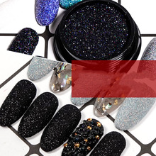 Holographic Sugar Nail Glitter Powder Shining Laser Gradient Chrome Pigment Dust Art Decoration
