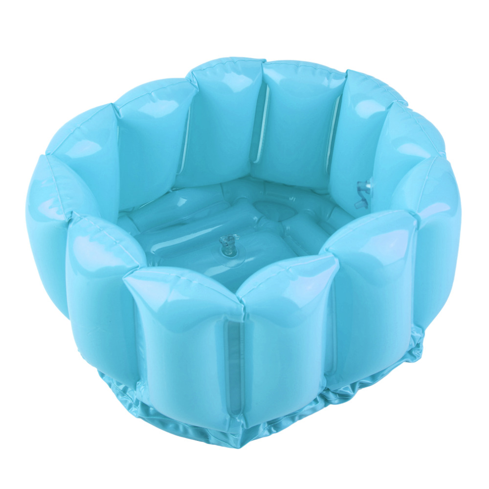 Foot Feet Soak Bath Inflatable Basin Wash Spa Home Use Pedicure Care ...