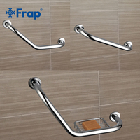 Рукоятка для ванной комнаты Frap F1717/18/19  противоскользящая рукоятка из нержавеющей стали