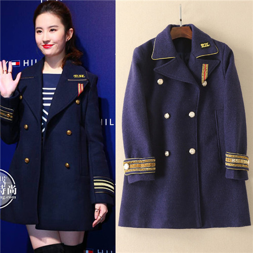 Compare Prices on Military Double Breasted Coat- Online Shopping ...