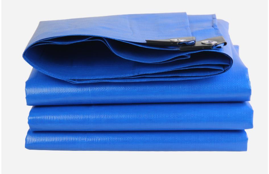 3x3 m bleu et orange couverture de marchandises de plein air toile, matériel imperméable, toile, bâche de pluie, bâche de camion, commission s.