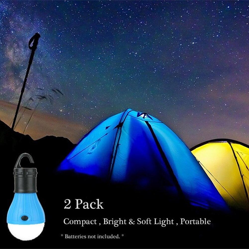 (2 Pz) Ha Condotto La Lampada Della Tenda Uragano Di Emergenza Luce Tenda Backpacking Escursionismo Pesca & Illuminazione Esterna Bug Out Bag Attrezzature Da Campeggio Sconti