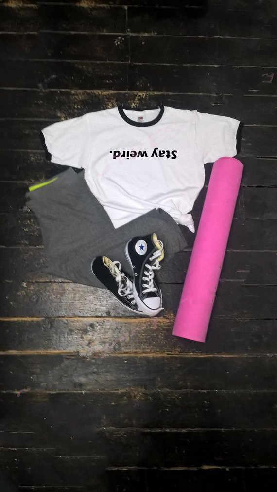 Sugarbaby Soggiorno Strano shirt Geek Emo Grunge Tumblr T shirt Divertente Geek Regalo Regalo Per Teenager Manica Corta Strano Magliette E Camicette nave di goccia