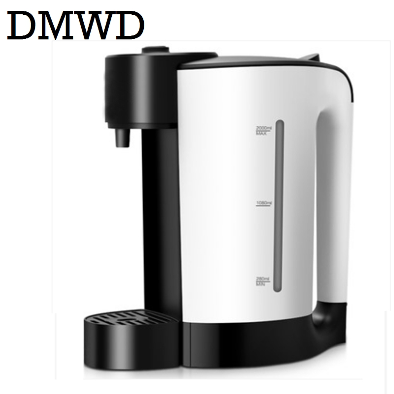 DMWD heating hot water dispenser thermal type bottle household electric kettle teapot bolier Milk Hteater Pots 2.5L EU US plug new multifunction intelligent thermostat baby double bottle warmers sterilizers thermal insulation heating egg milk warmer