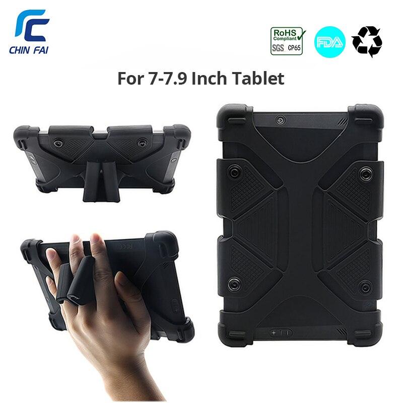 Universale Tablet Custodia in pelle per Kindle Fire 7 Custodia In Silicone per Aoson S7/S7 Pro 7 pollici Lenovo Tab2 A7 samsung SM-T285 7 pollici Tablet