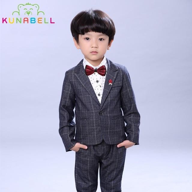 Boys Formal Suits Wedding Tuxedo Birthday Party Dress Jackets ...