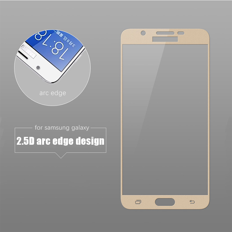 GerTong Penuh Penutup Kaca Tempered Untuk Samsung Galaxy A3 A5 A7 A7 - Aksesori dan suku cadang ponsel - Foto 6