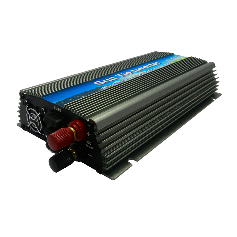 MAYLAR@22-50V 1000W Solar High Frequency Pure Sine MPPT Wave Grid Tie Inverter, Output 90-140V.50hz/60hz, For Alternative Energy