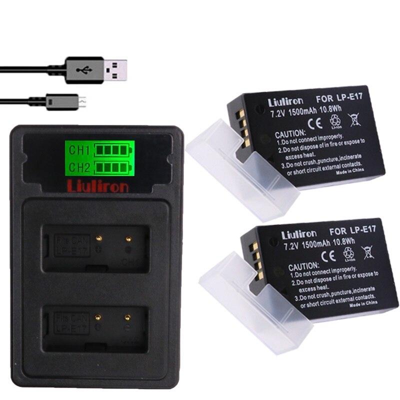 Batterie Lp-e17 Lpe17 Lp E17 Kamera Batterie Für Canon Eos M3 M5 M6 750d 760d T6i T6s 800d 8000d Kuss X8i