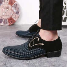Plus Size 38-48 2019 New Casual Shoes Men Pointed British Breathable Mens Lace-up