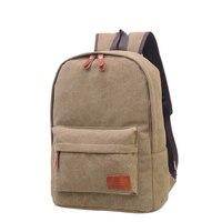 Men Backpack 2017 Hot Sale Fashion Men Male Canvas College Student Backpack Casual Rucksacks Travel Bag