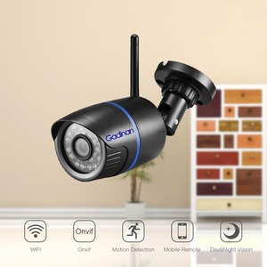 Image 2 - Gadinan 720P 1080P Audio Record IP Camera Outdoor Street Wifi Security Monitor Support TF Card App Yoosee For Smartphone