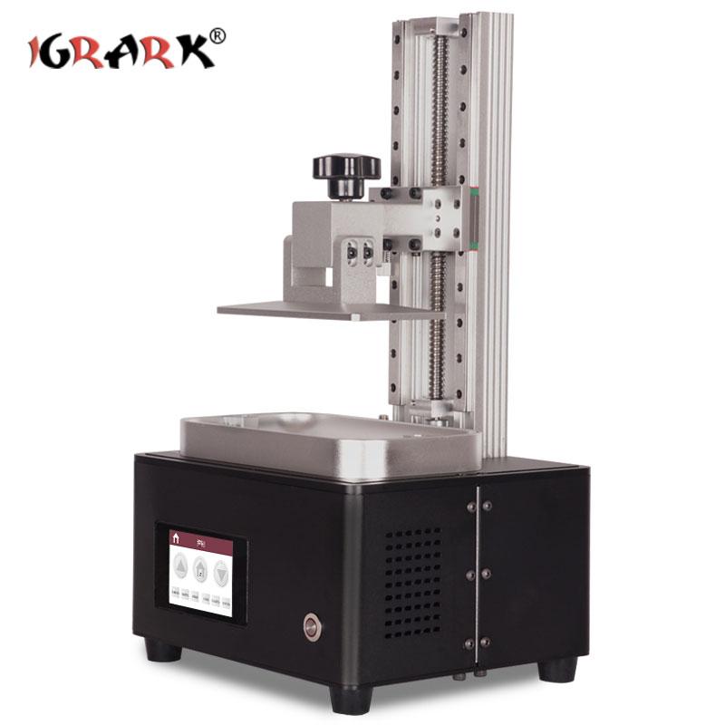 IGRARK LCD photopolymérisable imprimante 3D SLA/DLP photosensible résine bijoux modèle imprimante à main - 4