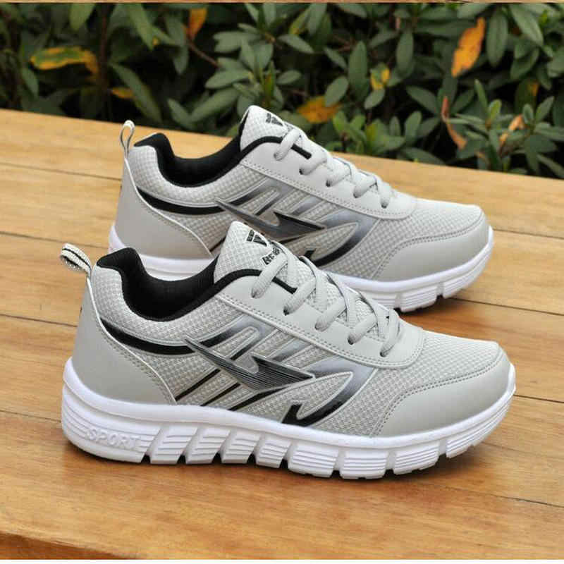 3da229b20 ... 2018 New Hot Light-weight Running Shoes White Men Sport Shoes SMART  CHIP Mens Black