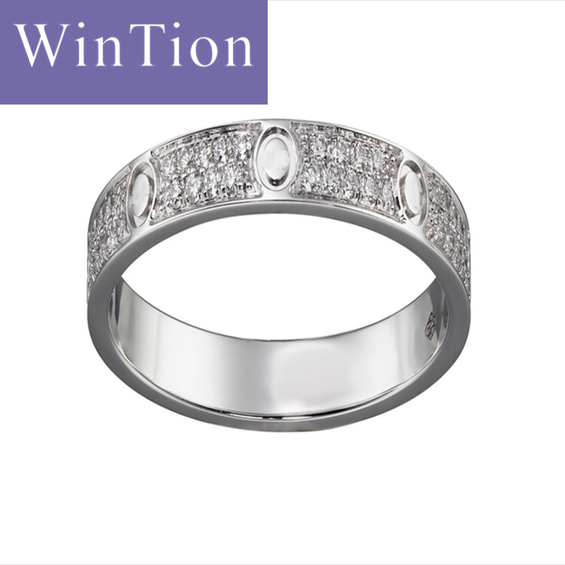Wintion Cadia Silber Gurtel Ring 925 Sterling Silber Echte Original
