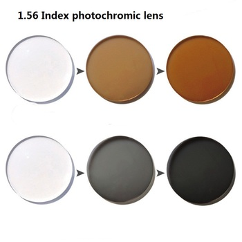 Vazrobe Angepasst Asphärische 1,56 Index Photochtomic Gläser Objektiv Beschichtung UV Blendung anti sonne UV400 ändern zu braun/grau