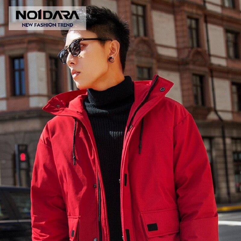 NO.1 DARA 2018 Fashion Winter White Duck   Down   Jacket men brand male warm   down     Coat   top quality fashion casual   down   Parkas men