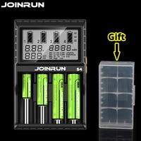 Joinrun 18650 Smart Battery Charger For 18650 14500 16340 26650 Ni MH AAA AA Smart Li