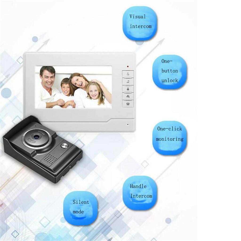 HIPERDEAL 7 дюймов цветной ЖК видео дверной звонок Домофон Система ночного видения камера AU/US/EU/UK 19Mar27