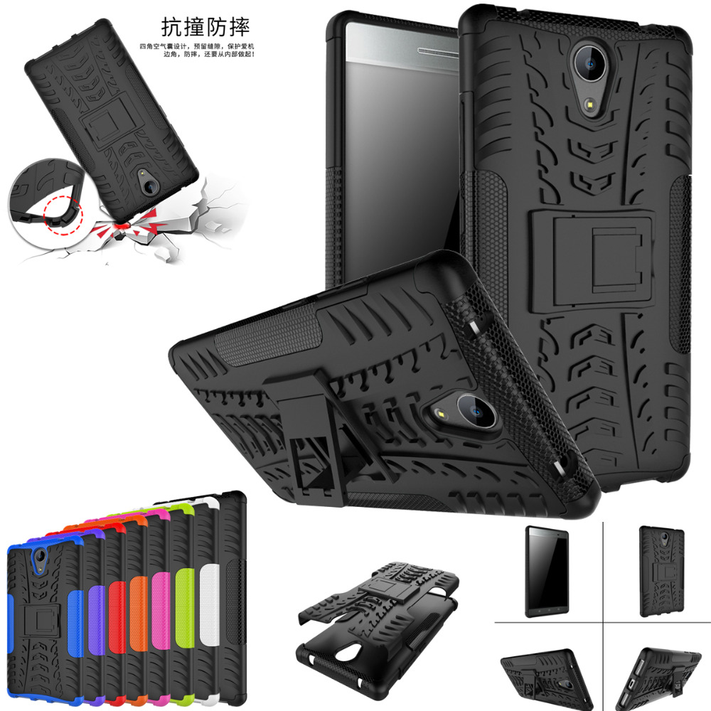 For Lenovo phab2 Case Heavy Duty Armor Shockproof Hybrid Hard Rugged Rubber Phone Cover  ...