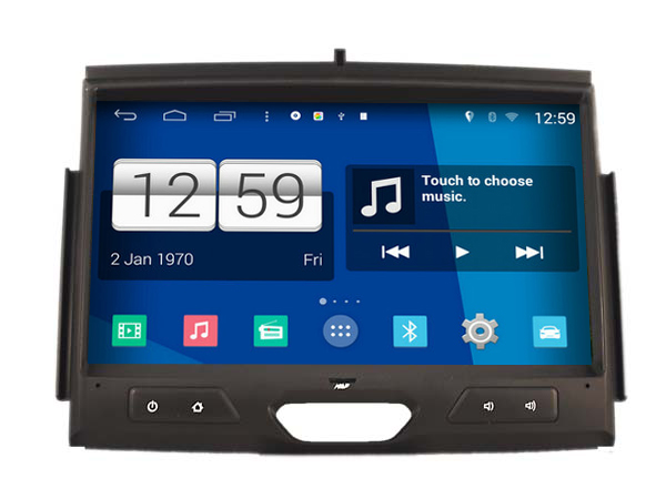 S160 Android 4 4 4 CAR DVD font b player b font FOR FORD RANGER 2015