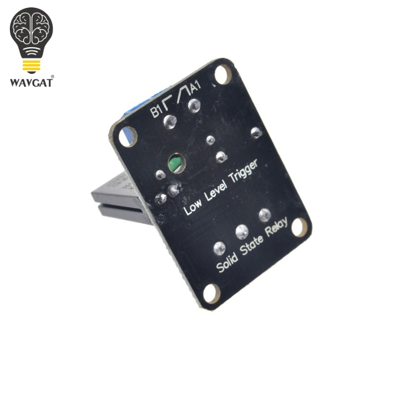Electronic Components & Supplies Wavgat 5v Relay 1 2 4 8 Channel Omron Ssr High Low Level Solid State Relay Module 250v 2a For Arduino