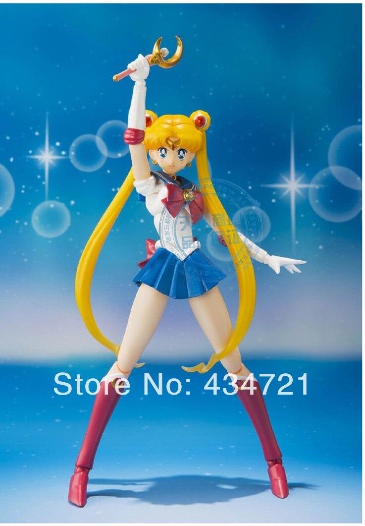 Anime S.H.F iguarts Pretty Guardian Sailor Moon Bishoujo Senshi Sailor Moon Action Figure Toy