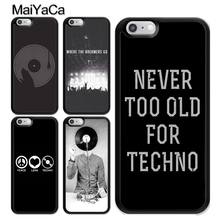 659d721da0 MaiYaCa Love Techno Music Quotes TPU Case For iphone X XR XS MAX For iphone  6S
