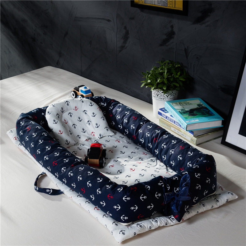 Baby Sleeping Artifact Portable Baby Crib Bed Baby Isolation Bed Multifunctional Foldable Bionic Bed