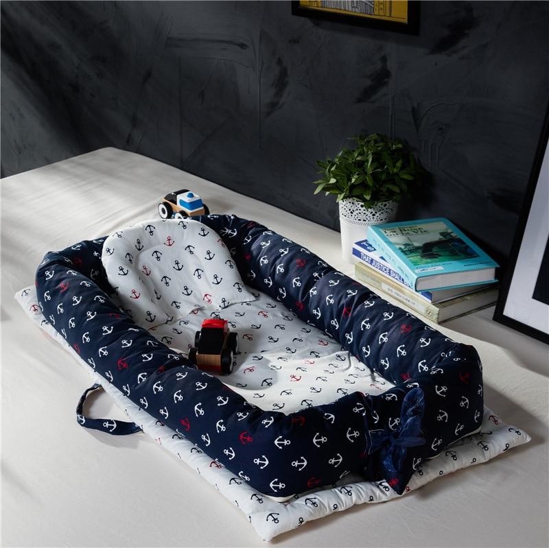 Baby Sleeping Artifact Portable Baby Crib Bed Baby Isolation Bed Multifunctional Foldable Bionic Bed