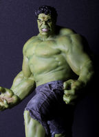 Avengers Figure Hulk / The Green Scar Big Size Super Cool 24 PVC Toys Free Shipping