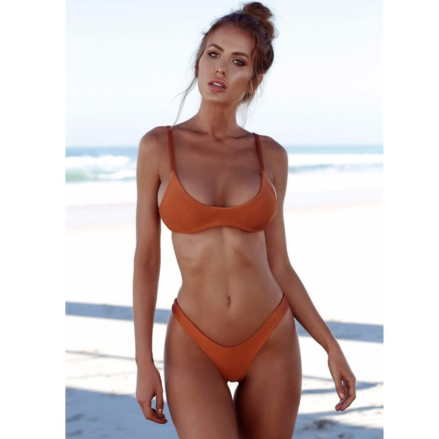 fa864b4c472 Bikinis 2018 plus size bikini Swimsuit Women Bikini Set Padded Swimwear  Push Up bikini Bathing Suit Summer Beach Swimming Suit