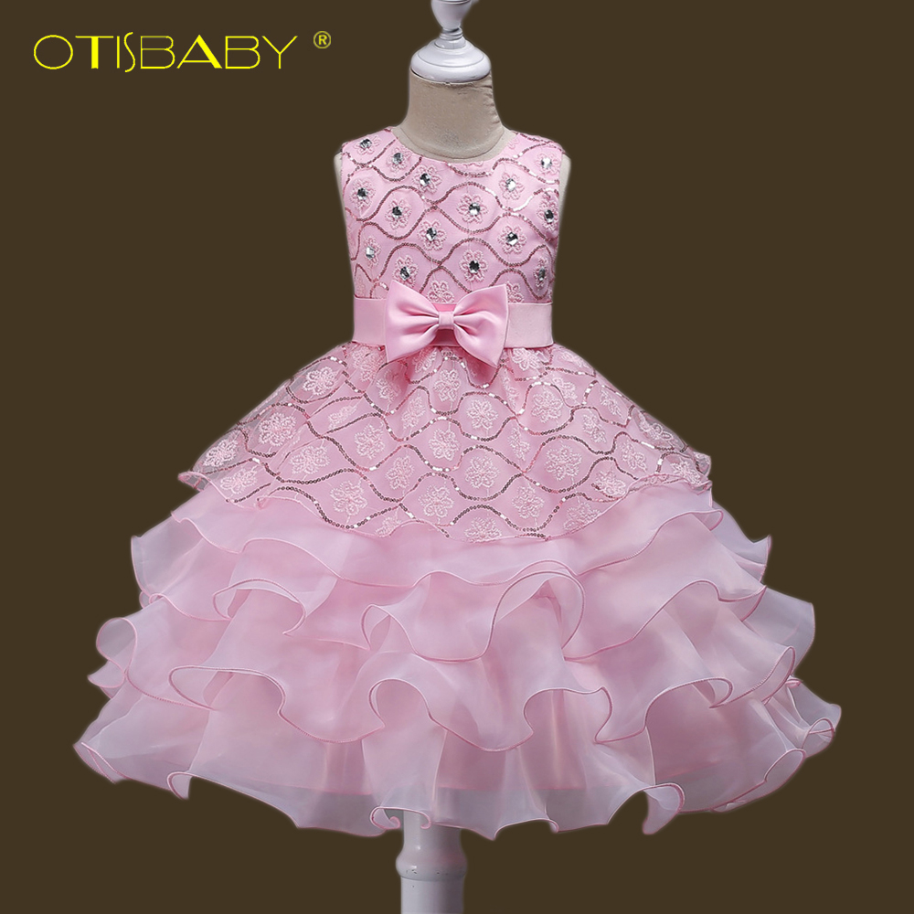 Girls   First Communion   Dresses   Kids Party Wear   Flower     Girl     Dresses   Tulle Frocks   Dress   Princess Formal Prom Gowns For Teenager