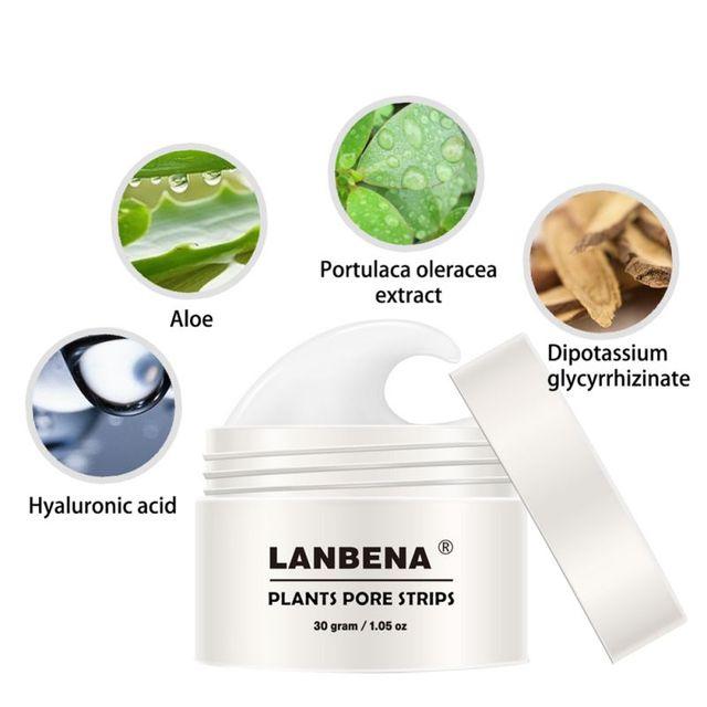 30g Blackhead Remover Nose Mask Pore Strip Black Mask Peeling Acne Treatment Black Deep Cleansing Skin Care PL2 3