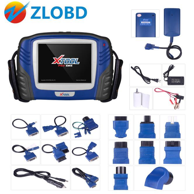 100 Original Xtool PS2 GDS Gasoline Version PS2 Scanner Auto key programming immobilizer without Plastic box