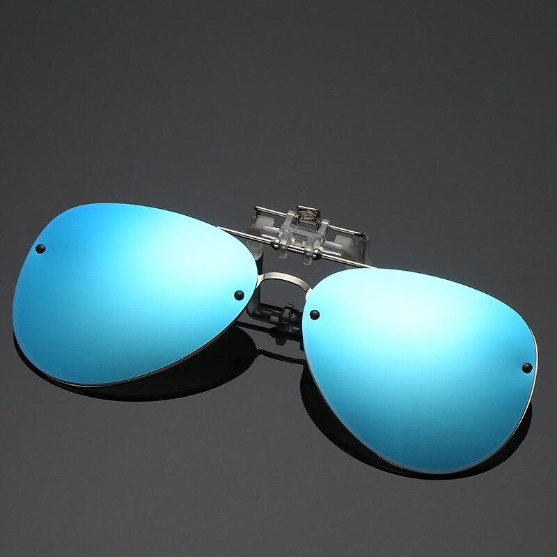 Sun Glasses Men Polarized Myopia Clip On Sunglasses Man 2018 Luxury Brand Design Solar Glasses UV400 Mirrored Male Sun Glass