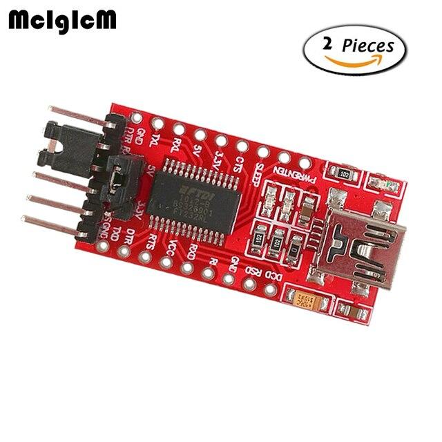 MCIGICM FT232RL FTDI USB to TTL Serial Adapter Module Mini Port 3.3V 5V Hot sale