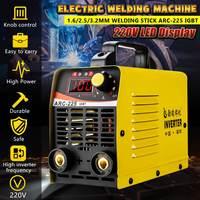 10 225A ARC 225 25KVA Handheld Mini MMA IGBT Inverter 220V Mini Electric ARC Welding Welder Inverter Machine Tool