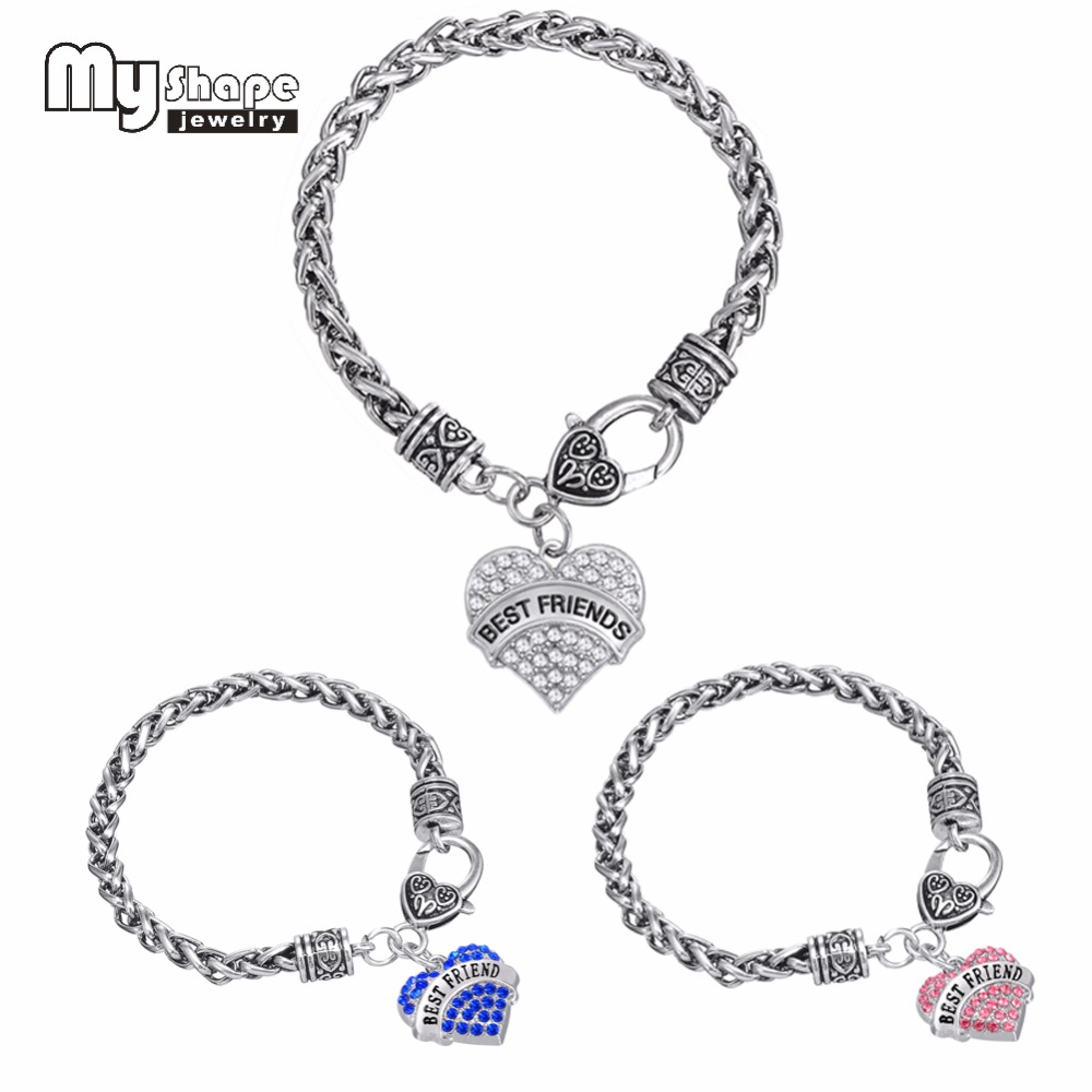 Best Friends Charm Bracelets For Women South America Vintage Style Bracelet(china  (mainland)