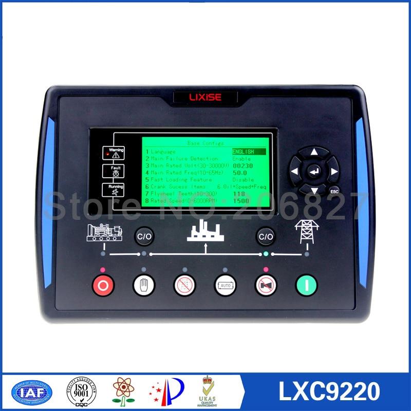 Contrôleur de générateur LXC9220 complètement remplacé panneau de commande dse7220 amf ats pour générateur diesel