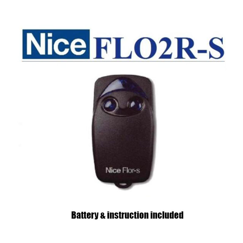 NICE FLO1R-S, FLO2R-S Gate Door Opener Hand Transmitter, Rolling code 433,92MHz!!! song for the planet