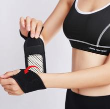 Free shipping thumb wrapped self-heating wristband Tourmaline warm middle-aged universal