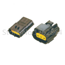 все цены на 5 Set 3 Pin DJ70314Y-2-11/21 Female Male Way Waterproof Wire Connector Plug Car Auto Sealed Car Truck Denso Connectors онлайн