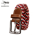 [DWTS]Belts Cummerbunds Elastic Woven Braid  Men's Belt Band Trouser Pants Mens Belts Jeans leather belt
