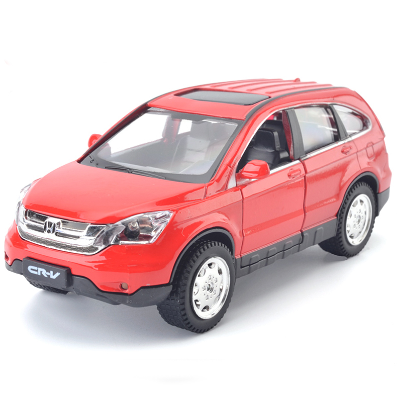 High Simulation High Quality 1:32 Alloy Honda CRV SUV Off-road Vehicles Metal Model Cars Pull Back Car Kids Toy Free Shipping