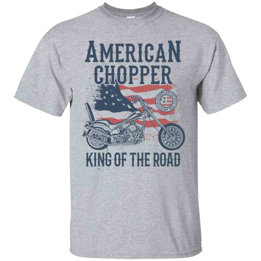 T-Shirt Men 2019 New Print Men T-Shirt Summer American Chopper T-Shirt, Motorcycle Shirt, Classic Motorbike Nerd T-Shirts